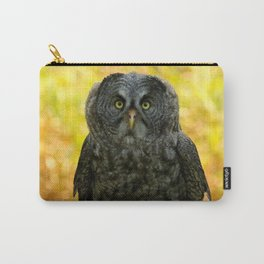 Owl Staring Contest Carry-All Pouch