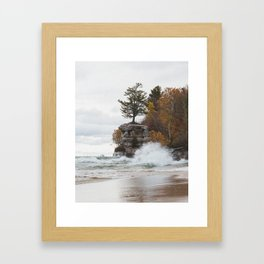 Chapel Rock | Pictured Rocks National Lakeshore, Michigan | John Hill Photography Framed Art Print