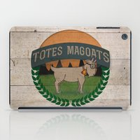 totes iPad Cases featuring Totes Magoats by LaurenPyles