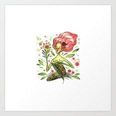 Spring Fairy Art Print