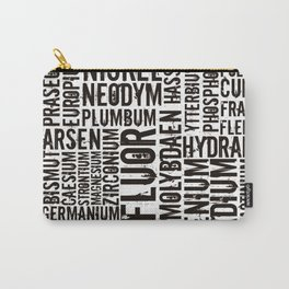 Chemical Elements Carry-All Pouch