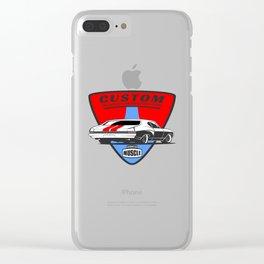 Custom Muscle Car Clear iPhone Case