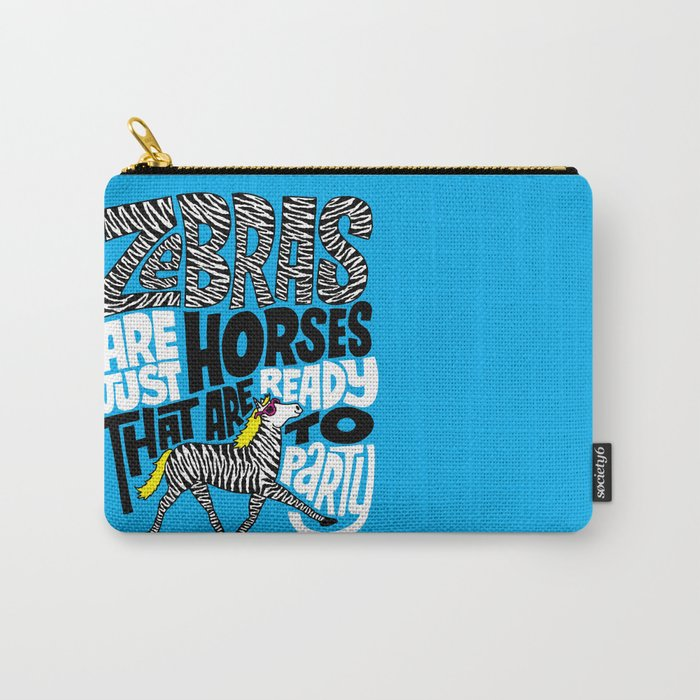 Party Horses Carry-All Pouch