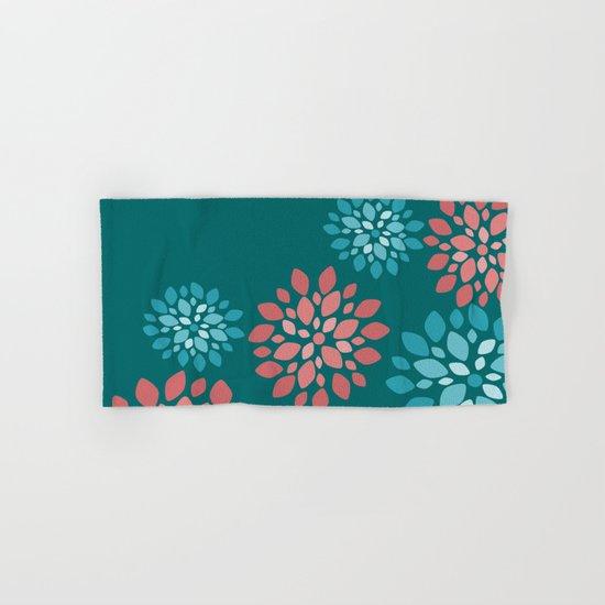 Flower Flurries Hand & Bath Towel