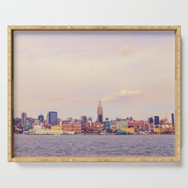 Perfect Day - New York City Skyline Serving Tray