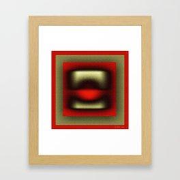 The telephone Framed Art Print