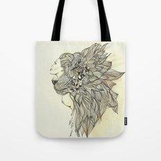animalia lion Tote Bag
