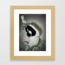 BUG GIRL Framed Art Print