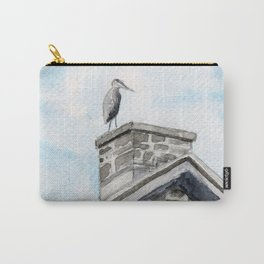 Heron on Watson's Mill Carry-All Pouch
