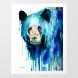 American black bear Art Print