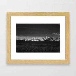 Across the Bay Framed Art Print