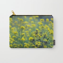 Yellow flowers of the Volcán Irazú Carry-All Pouch