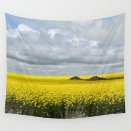 A Spring Crop Wall Tapestry