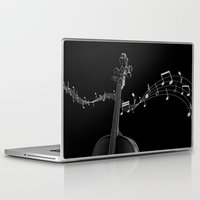 cello Laptop & iPad Skins featuring My Cello by society6-BIG