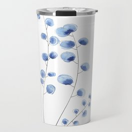 Eucalyptus III - Blue Travel Mug