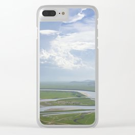 Yellow River in Sichuan, China Clear iPhone Case