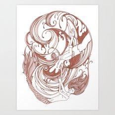 Skeleton Key Art Print