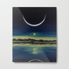 Supernatural Eclipse Metal Print