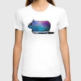 Cosmic Guinea Pig on Wheels T-shirt