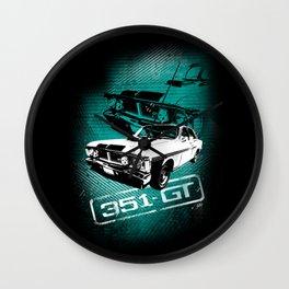Ford Falcon XY GTHO Phase III (Grunge) Wall Clock