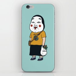 Joyful Girl iPhone Skin