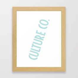 Culture Co. Framed Art Print