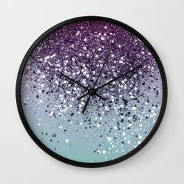 Summer Love Glitter #3 #shiny #decor #art #society6 Wall Clock
