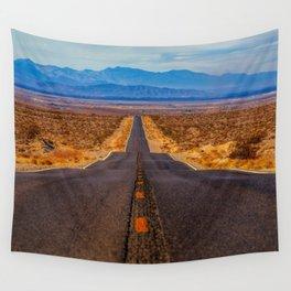 Desert Highway Wall Tapestry