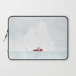 A Ship & An Iceberg Laptop Sleeve
