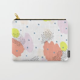 Blotchy Pattern Carry-All Pouch