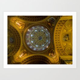 Domed. Art Print