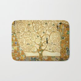 Gustav Klimt - Tree of Life Bath Mat