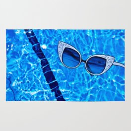 Paper Sunglasses Rug