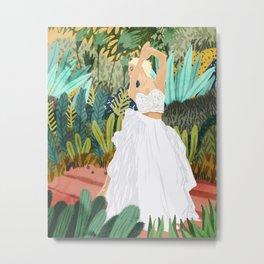 Forest Bride Metal Print