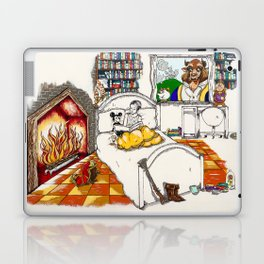 Books Coming to Life: Beauty and the Beast Laptop & iPad Skin