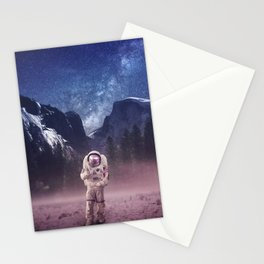 Exploring my own world Stationery Cards
