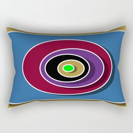 Abstract 50s Style - 3 - 001 Rectangular Pillow