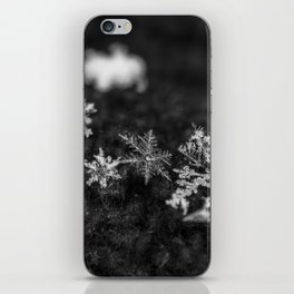 Clump of snowflakes iPhone Skin