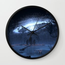 The Standing Stones Wall Clock