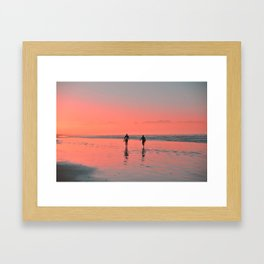 Pink Dawn Framed Art Print