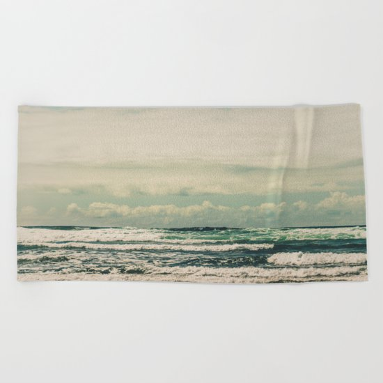 Warm Tide Beach Towel