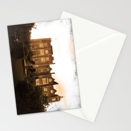 Hatfield house sepia photo Stationery Cards