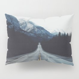 Mountain Road #forest Pillow Sham