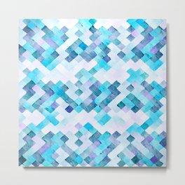 Ice Cubes Metal Print