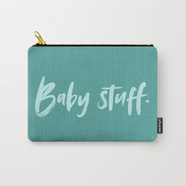 Baby Stuff Baby Carry All Pouch Baby Gift // Teal Carry-All Pouch