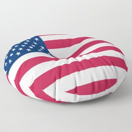 Flag of USA - American flag, flag of america, america, the stars and stripes,us, united states Floor Pillow