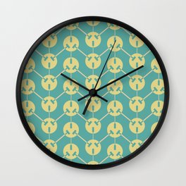 Ohm series 220 volt pattern Wall Clock