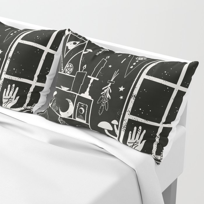 Moon Altar Pillow Sham