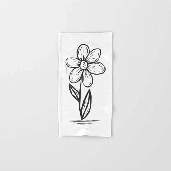 FLOWER Hand & Bath Towel