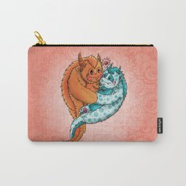 Valentine's Day Cuddle Monsters in Love Carry-All Pouch